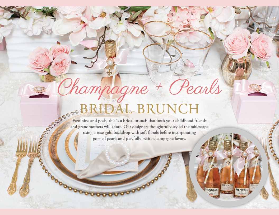 Champagne and Pearls Bridal Brunch