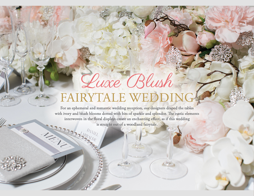 Luxe Blush Fairytale Wedding