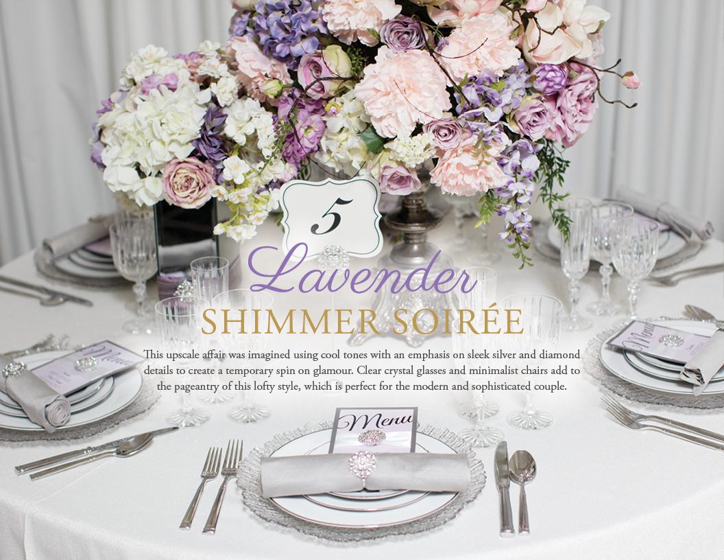 Lavender Shimmer Soiree