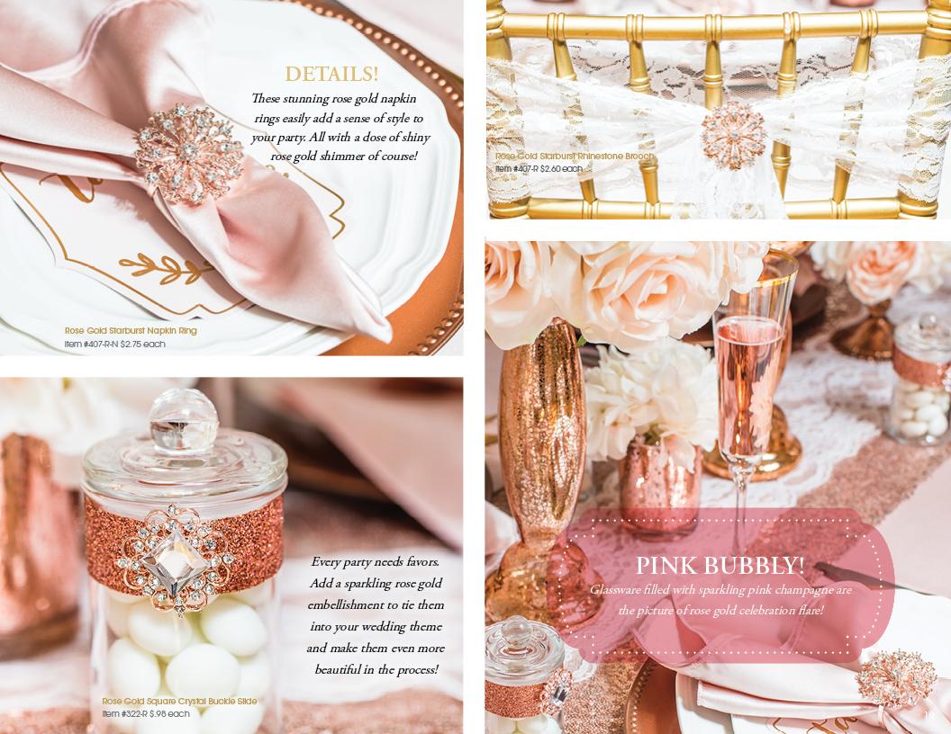 Rose Gold Romance Details