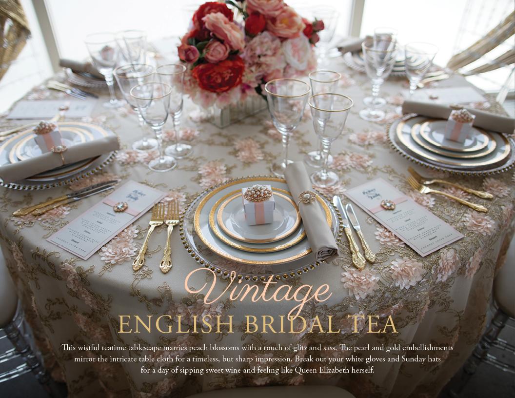 Vintage Bridal Tea