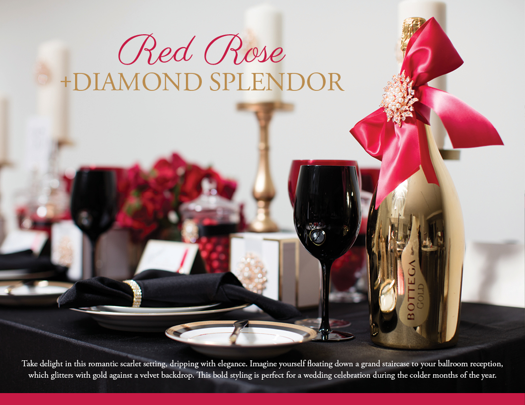 Red Rose Diamond Splendor