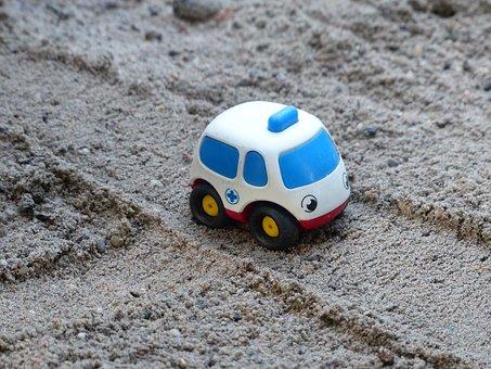 ambulanz sand spielzeug