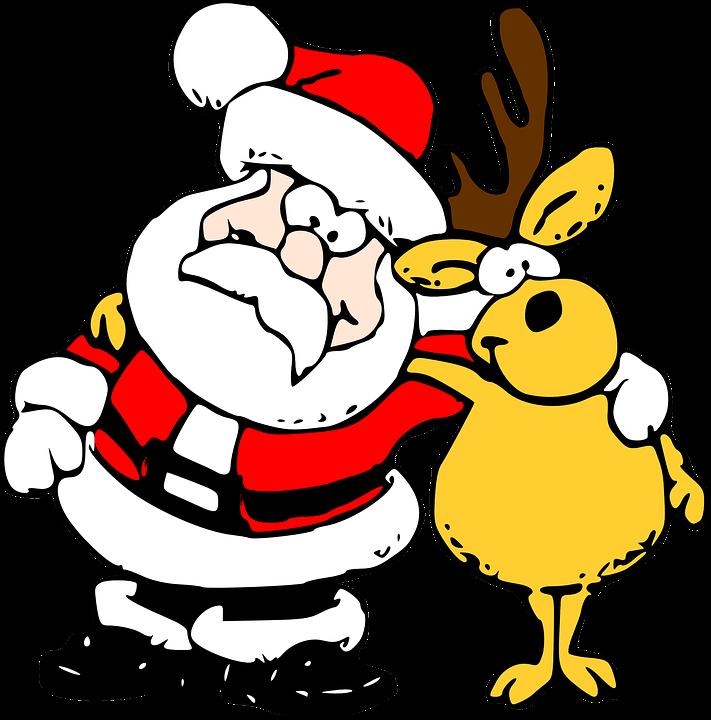 Weihnachtsmann Rentier weihnachten