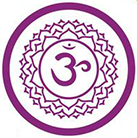 Sahasrara chakra corona violeta