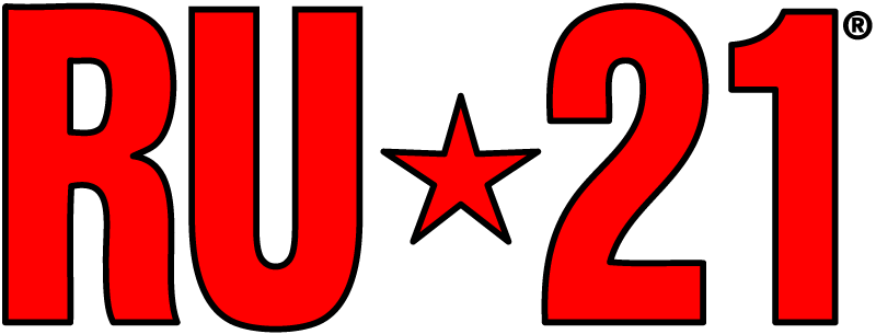 RU-21 hangover prevention product logo