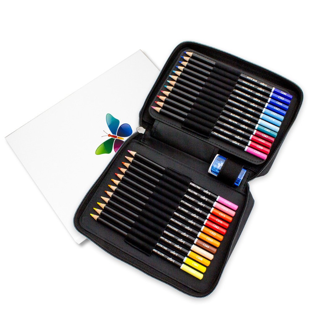 48 Colored Pencil Set