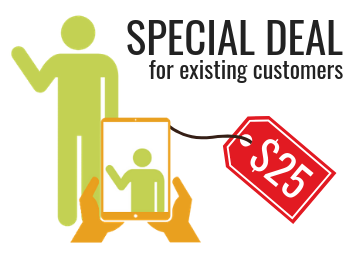 Special deal - Get a $25 worth of store credit for video review