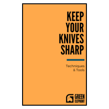Ebook about using sharpening stones, honing steels, and leather strops