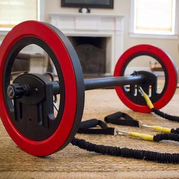 Pilates Wheel in home