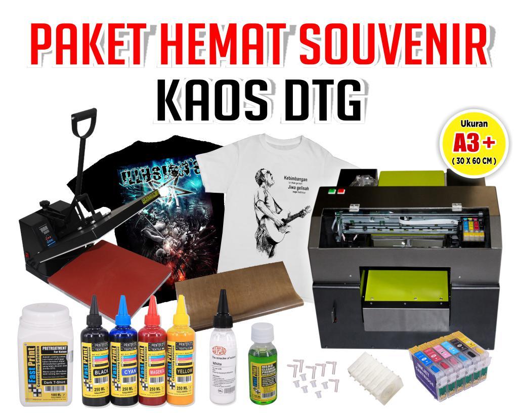 Paket Souvenir Kaos DTG