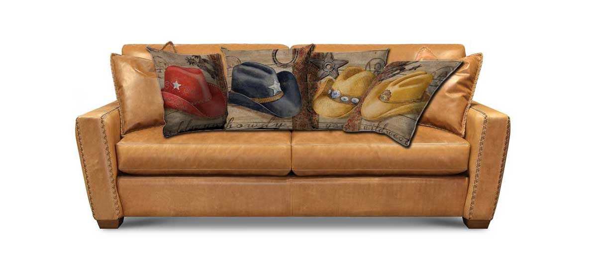 horse cushion covers pillow on sofa