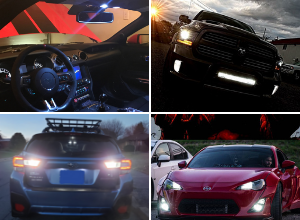 Car Lighting District LED Boxing Day Sale for all car make models and years