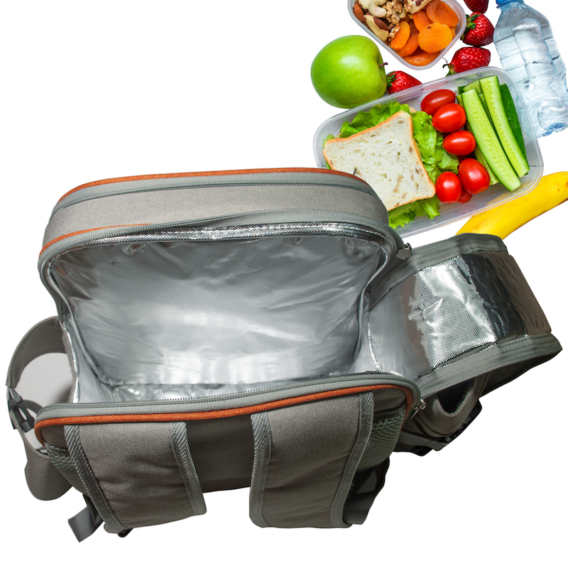 Insulted picnic backpacks keep your food fresher for longer